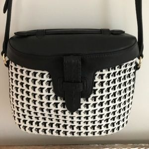 Handbags - Crossbody bag Black white